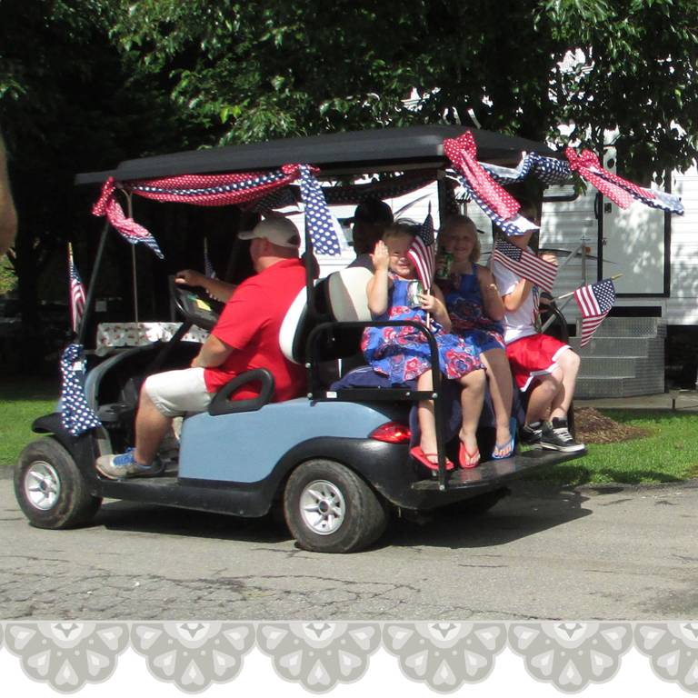 PLAY PENDING: [celete] red, white and blue on decorate a 4 wheeler, halloween decorating ideas golf cart, decorate a wheelchair, decorate a shopping cart,