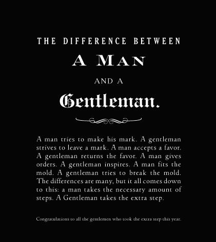 Think a porter men vr gentlemen or real men for Men a porter