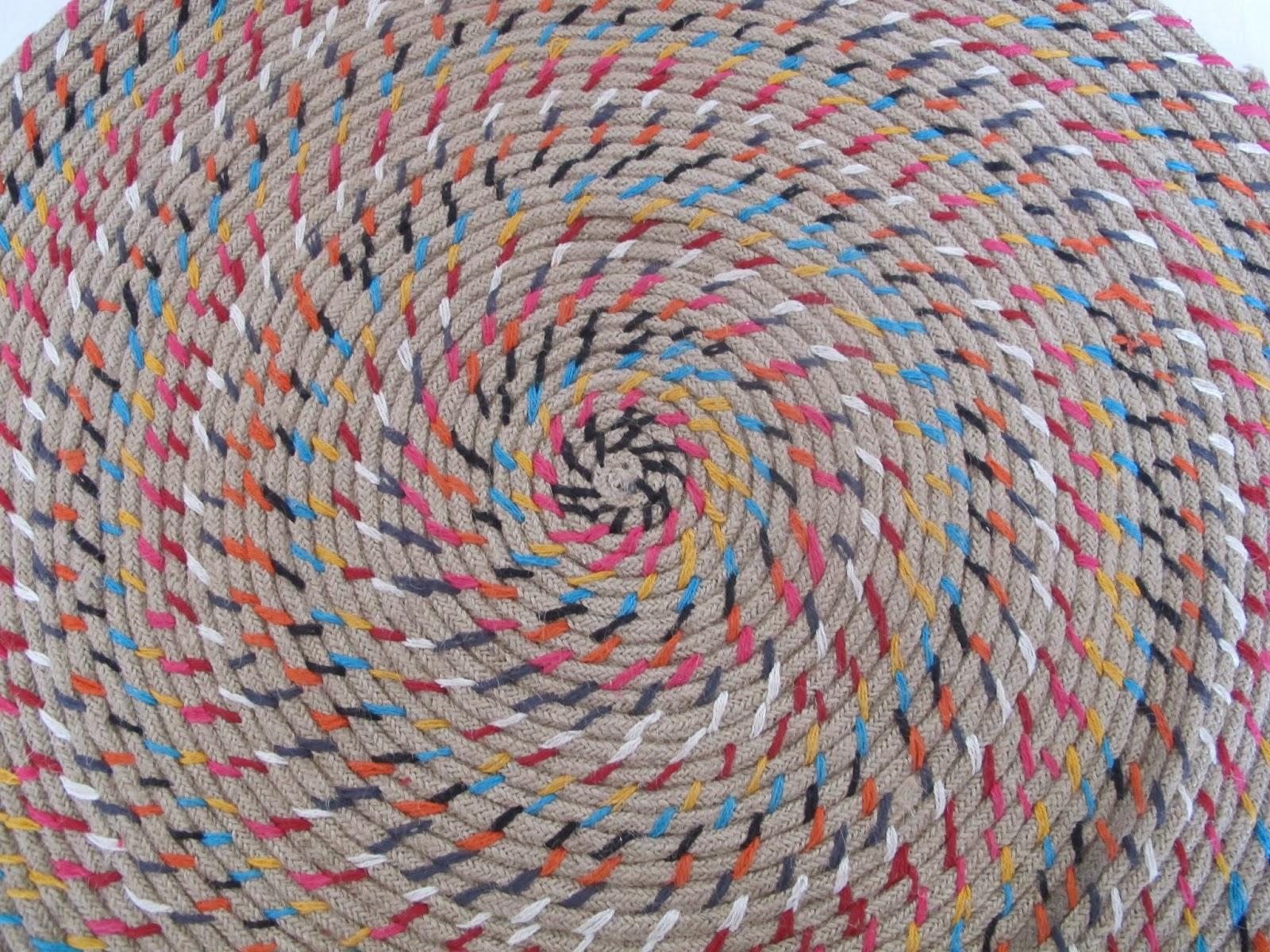 Mimitos home alfombras indias de telas y yute i dale - Alfombras de yute ...