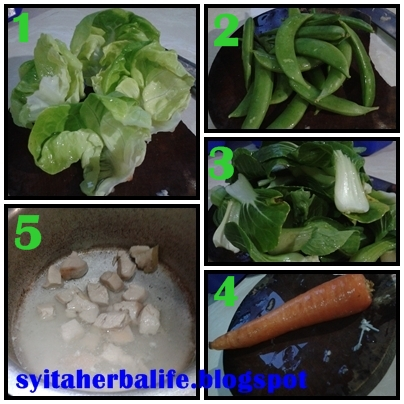 sharing an experience: resepi diet sihat