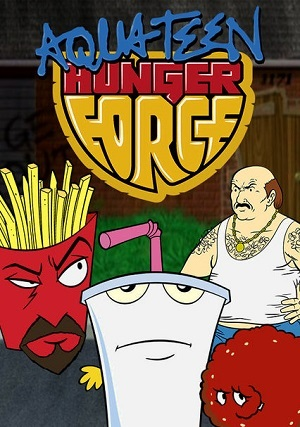 Aqua Teen - O Esquadrão Força Total Torrent Download TVRip 480p