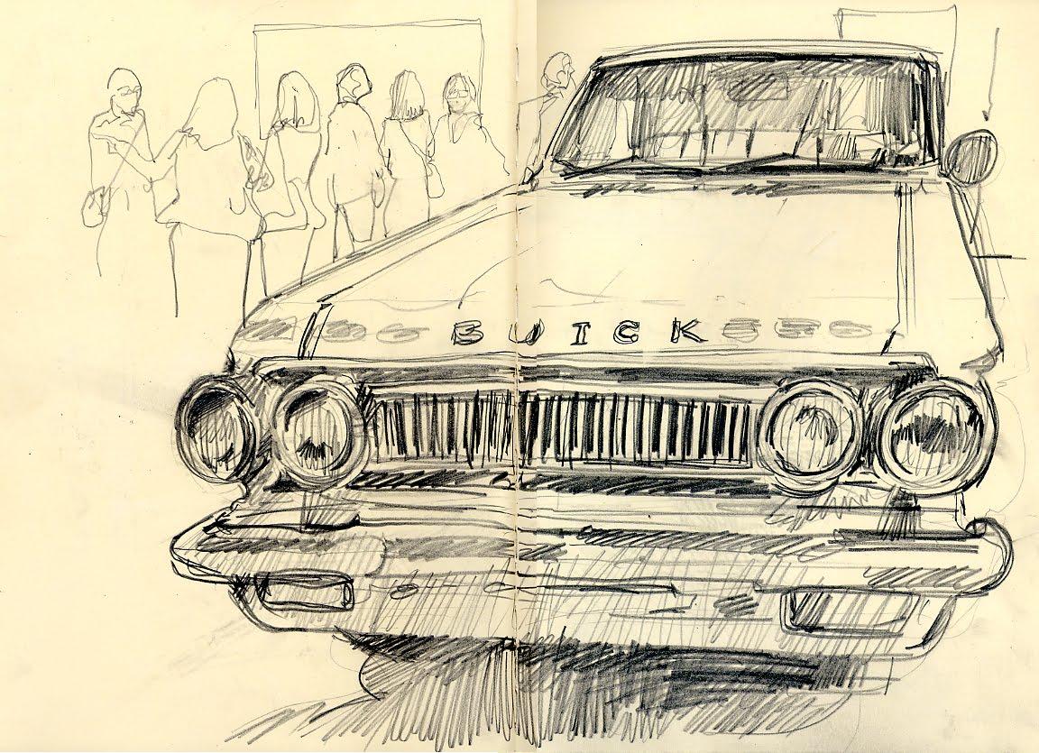Recent Car drawings | Urban Sketchers