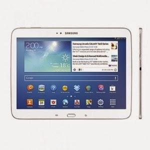 "Front screen image Samsung Galaxy Tab 3 7"""