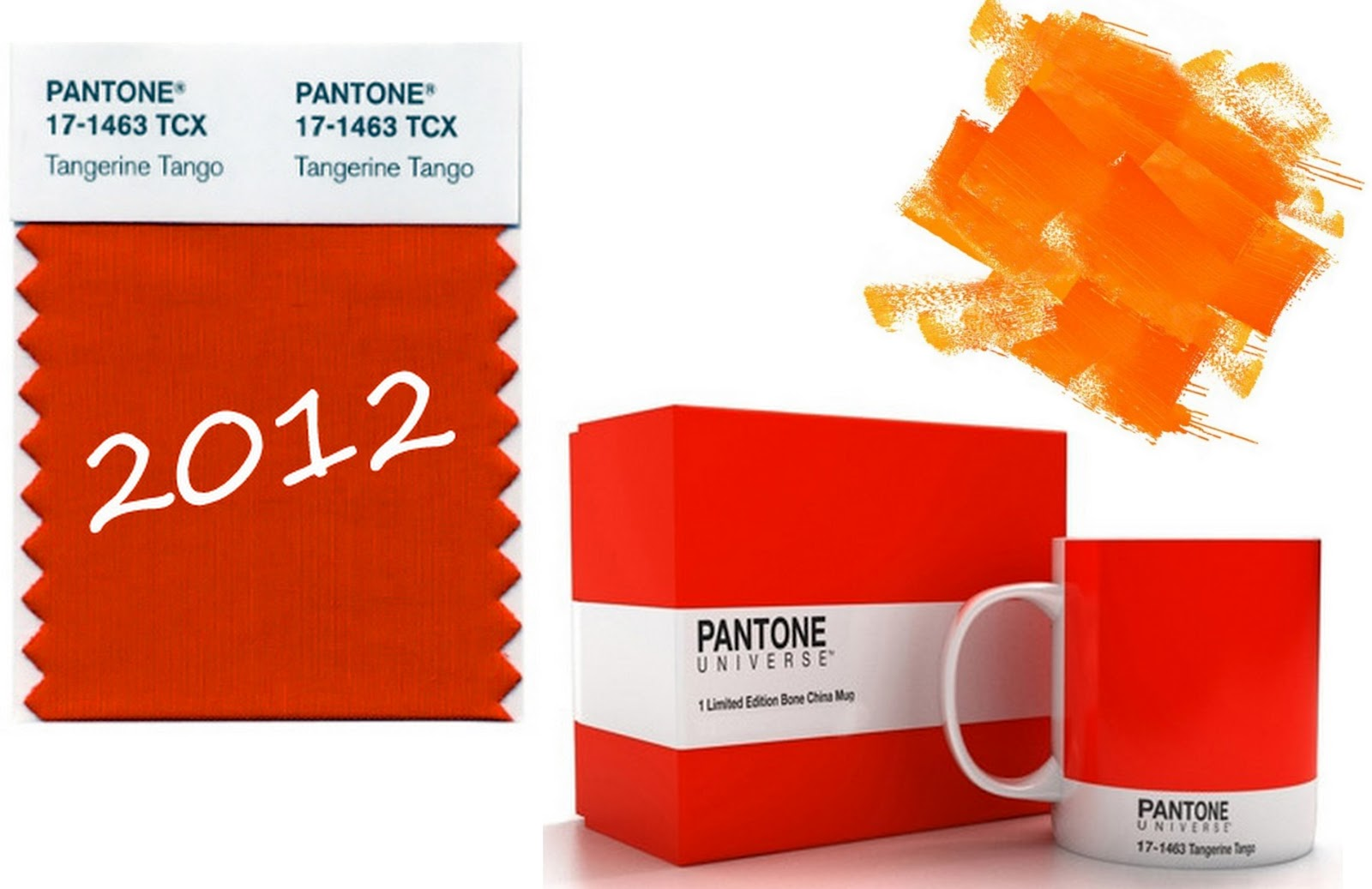 Muppet and Co: Color of the year 2012 Tangerine Tango
