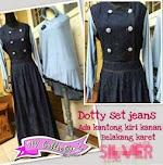 Baju Muslim Gamis Dotty GC210X HABIS