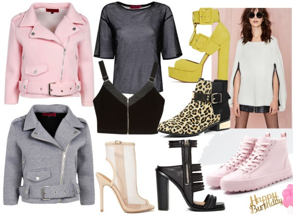 Birthday Wishlist BOOHOO RIVER ISLAND NASTY GAL BERSHKA