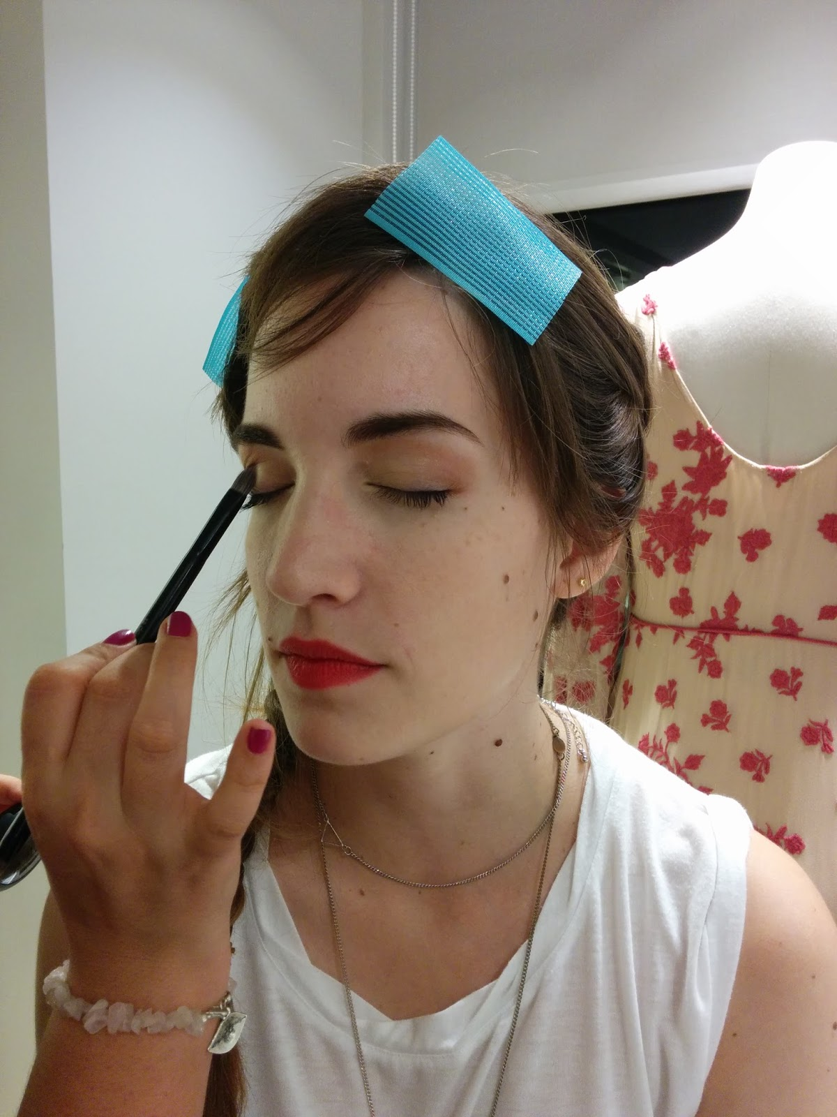 himynameisjudit maquillada por potisdecolores