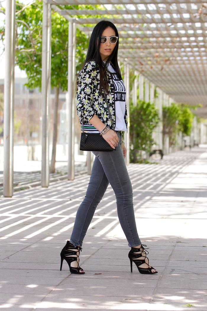 Blogger de moda valenciana con Jeans de MELTIN' POT