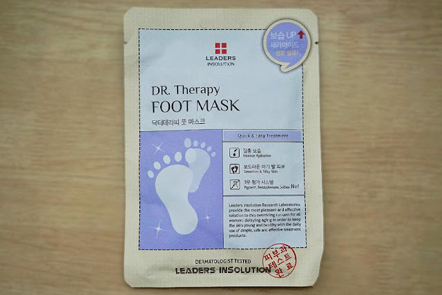 Leaders InSolution Dr. Therapy Foot Mask