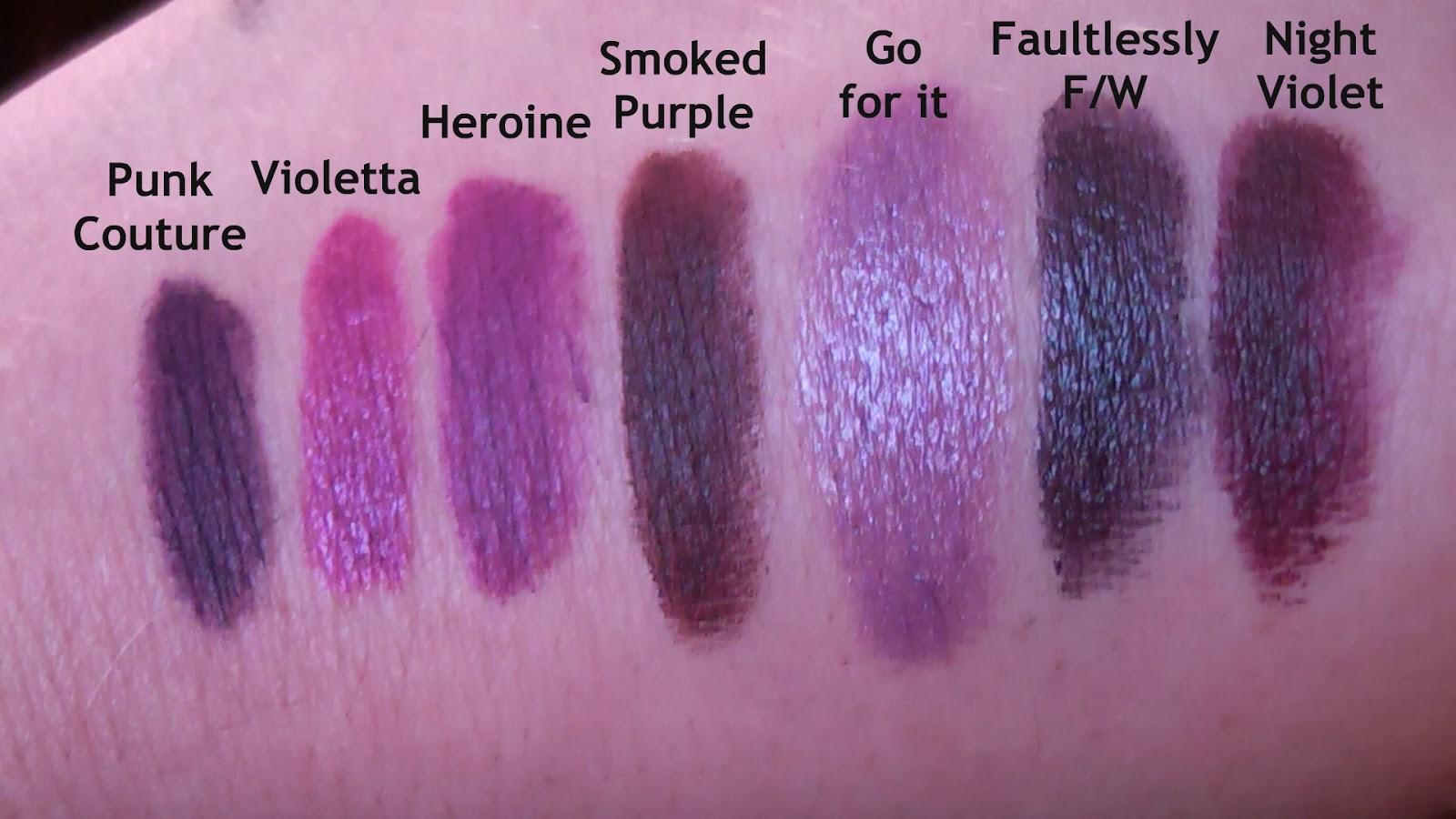 Préférence UNAPOLOGETIC: MAC Punk Couture Lipstick Haul (comparison and swatches) JG73