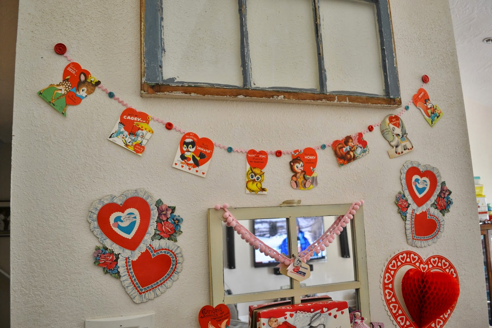 happy early valentines day - Vintage Valentine Decorations