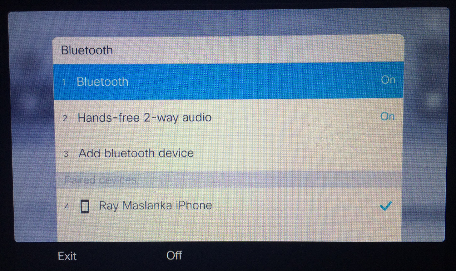how to make a bluetooth device discoverable on iphone