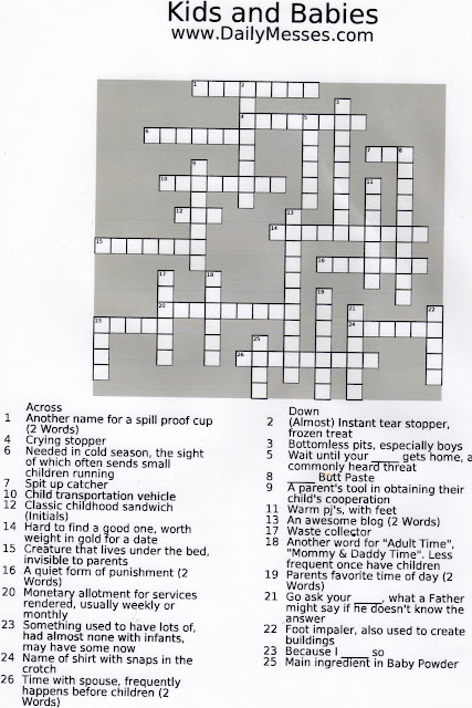 Daily celebrity crossword answers november 4 holiday