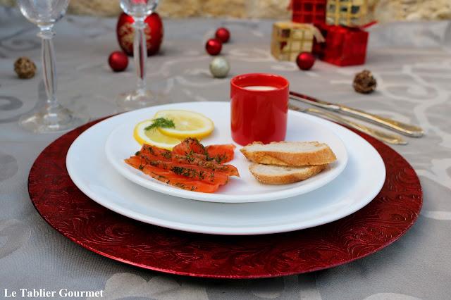 Direction la Scandinavie avec ce saumon gravlax !