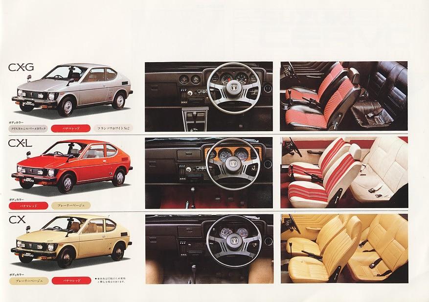 suzuki cervo ss20, wnętrze, klasyczne auto, japońskie samochody z lat 70, stare modele