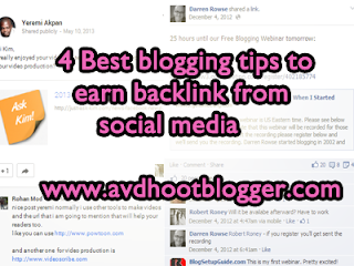4 Blogging Tips To Get Backlinks From Social Media Users