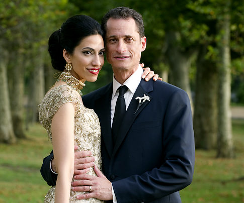 Anthony+Weiner+and+his+wife