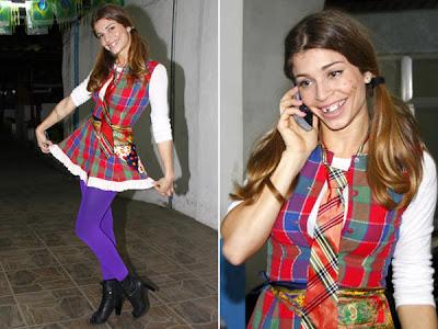 modelos diferentes de vestidos para usar em festas juninas