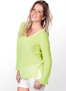Blusas Neon - fotos