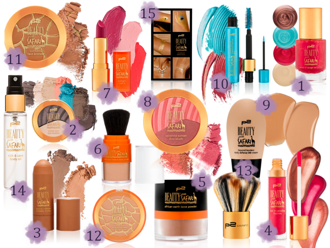 Preview p2 Beauty Goes Safari - Limited Edition (LE) - April 2015