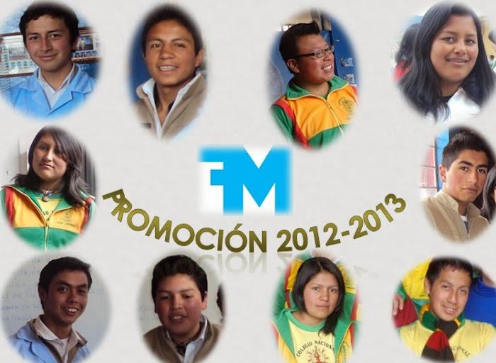 Cuarta promoción FFMM 2012-2013