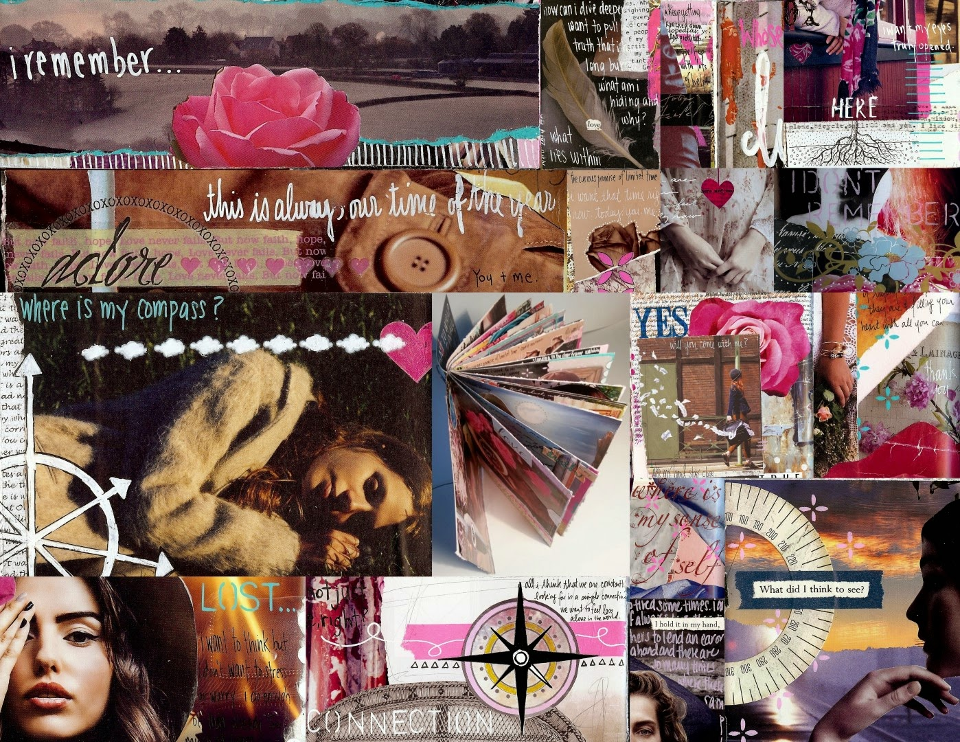 Kelly Kilmer Artist and Instructor: Making My Mark: A Prompt A Day Revised and Revisited: January 2015: Collage