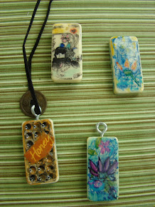 Making handpainted, jewelry