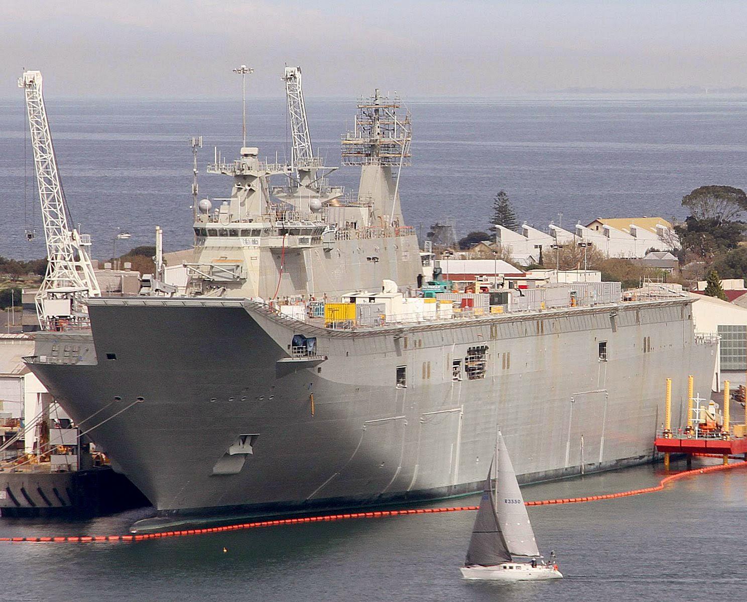 HMAS Canberra III (L02) Landing Helicopter Dock