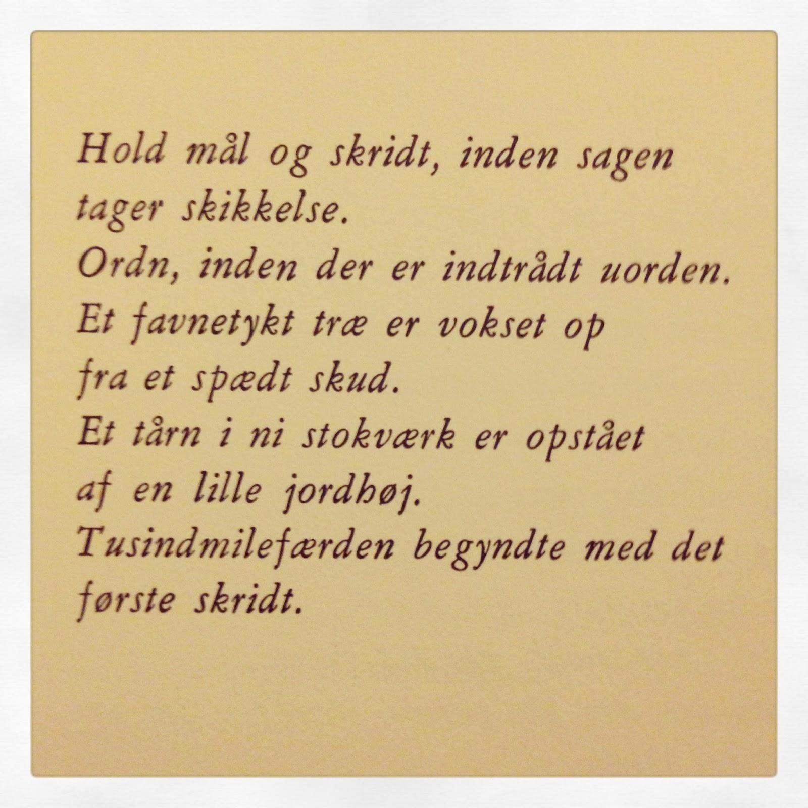 veninde citater på dansk