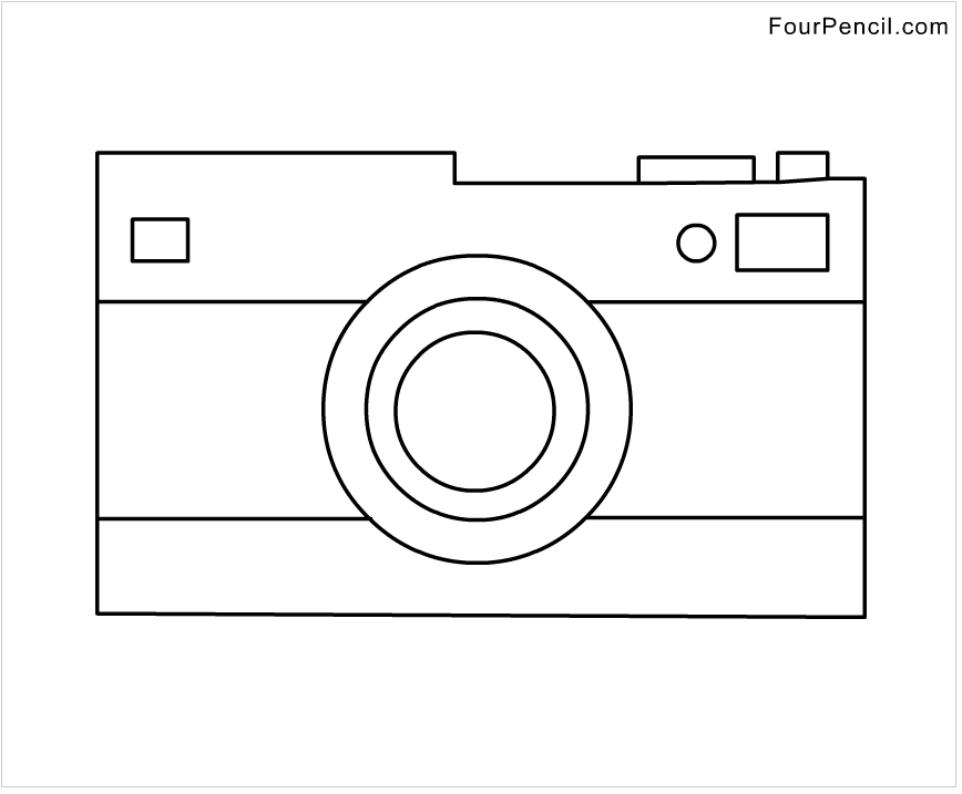 Free Coloring Pages Of Camera