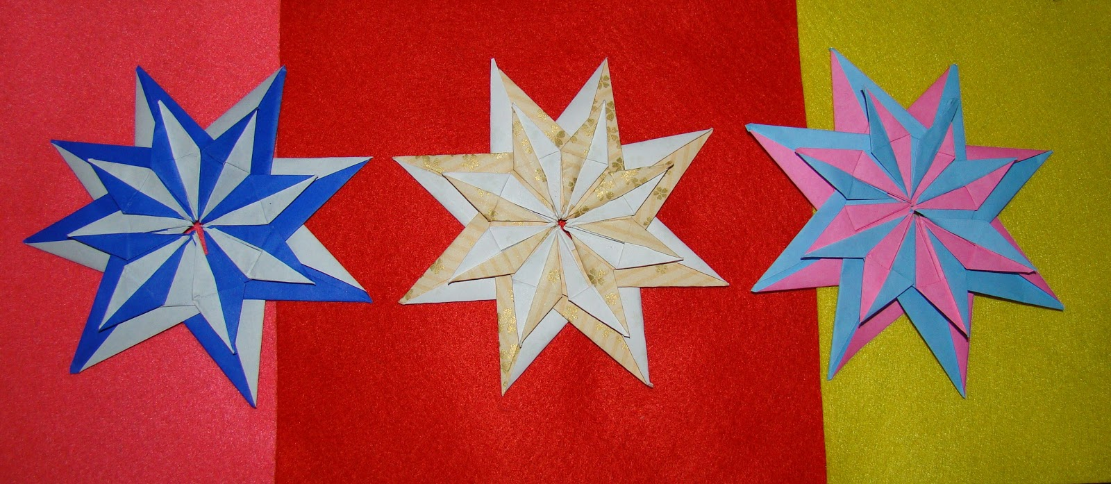 Как сделать объемную звезду из бумаги в технике 26