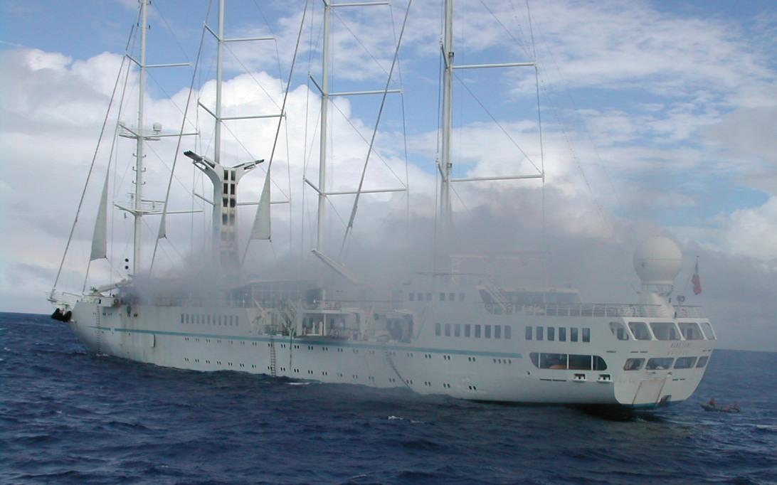 MSY Wind Song Sailing Ship Wallpaper 3