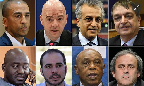 FIFA Election: The Eight Hopefuls In The Running To Succeed Sepp Blatter