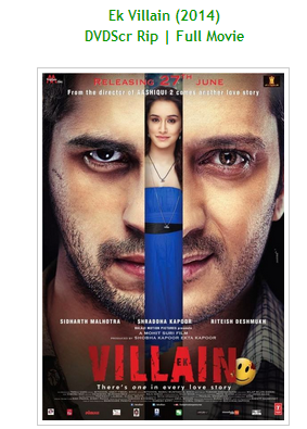 Ek Villain 3GP MP4 Download Full Movie for Mobile