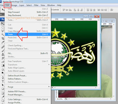 Cara mengganti beground photo diphotoshop