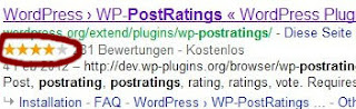 Sternewertung Google