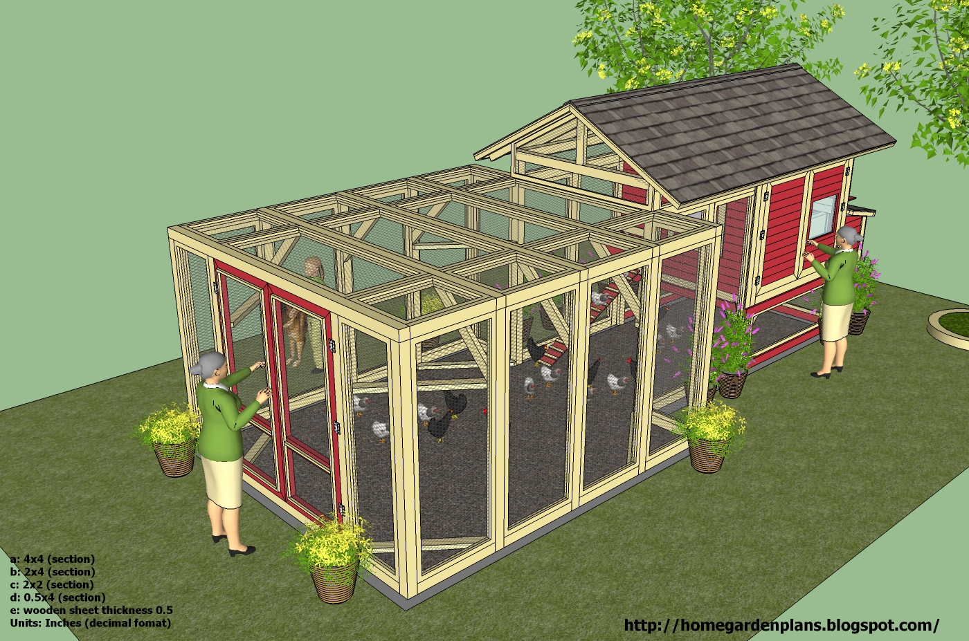 Free Range Chicken Coop Ideas Most Popular Coop Channel