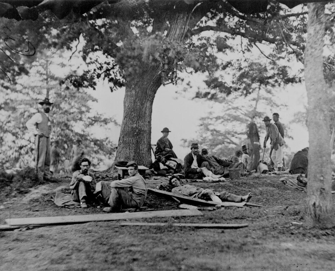 Guerra Civil Estadounidense - Soldados heridos