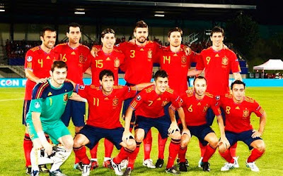 Spain Official Team Euro 2012