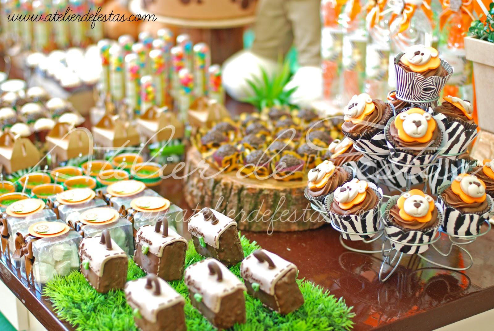 decoracao festa safari:Atelier de Festas: Festa Safari II