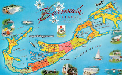 Bermuda Map Political Region