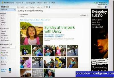 ارسال الصور و عرضها على بريد هوت ميل Hotmail