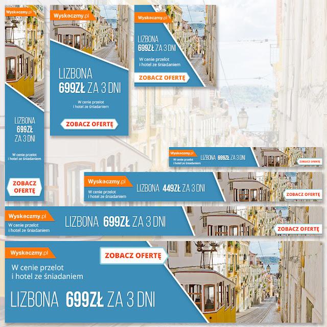 banery reklamowe Lizbona