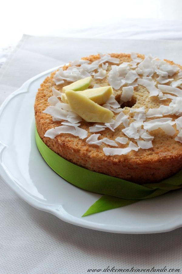 chiffon cake al mango e latte di cocco ovvero la fluffosa in versione