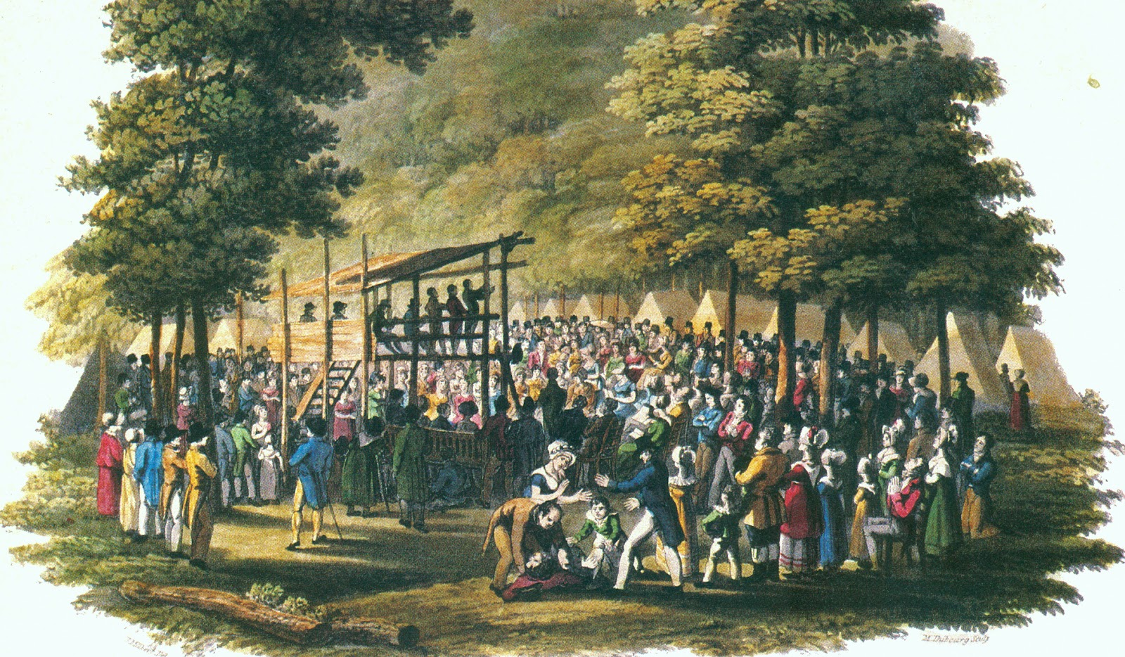 cane ridge americas pentecost a documentation of the largest camp meeting of the second great awaken In this case his major source was a 19th century restorationist movement that began in 1801 in cane ridge second great awakening in america camp meeting.