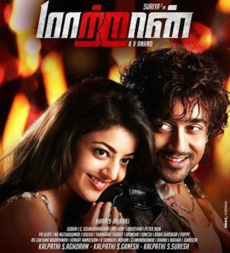 Maattrraan 2012 Dual Audio [Hindi Tamil] BRRip 720p 1.3GB