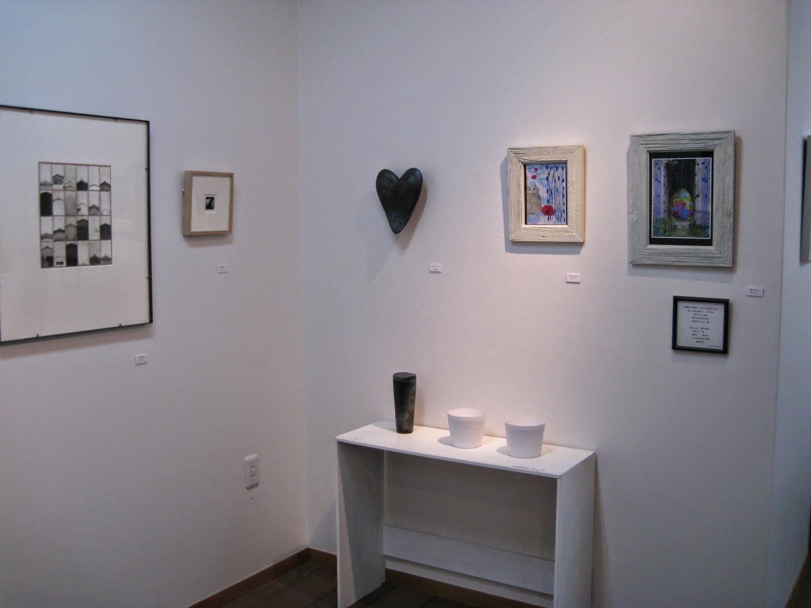 ギャラリー勇斎での展示風景