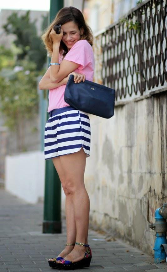 streetstyle, ss14, ootd, outfit, pink, PJslook, whatiwore, בלוגאופנה, אופנה, Acne'studios