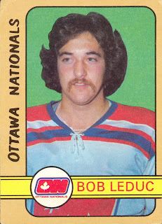 bob leduc rookie card 1972-73 o-pee-chee ottawa nationals