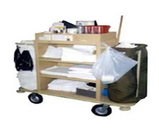Hoteleria equipamiento del carro de la camarera for Trabajo de camarera de pisos